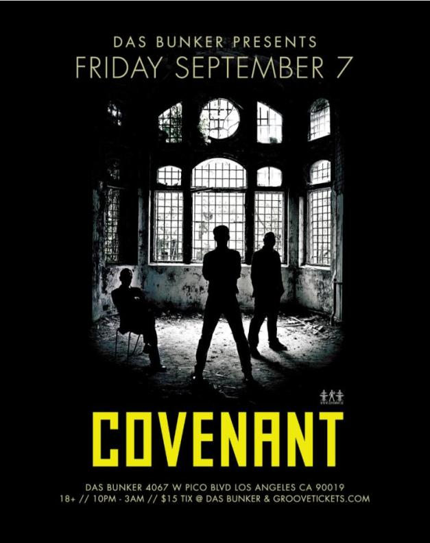 Covenant @ Das Bunker