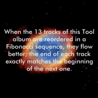 The Fibonacci Sequence in Tool's Lateralus